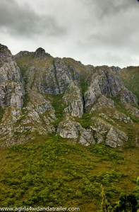 Sentinel Range, on the way to Strathgordon
