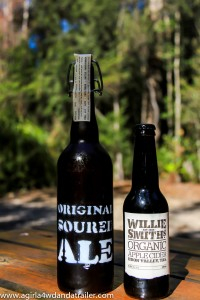 Original Soured Ale and Willie Smith Cider