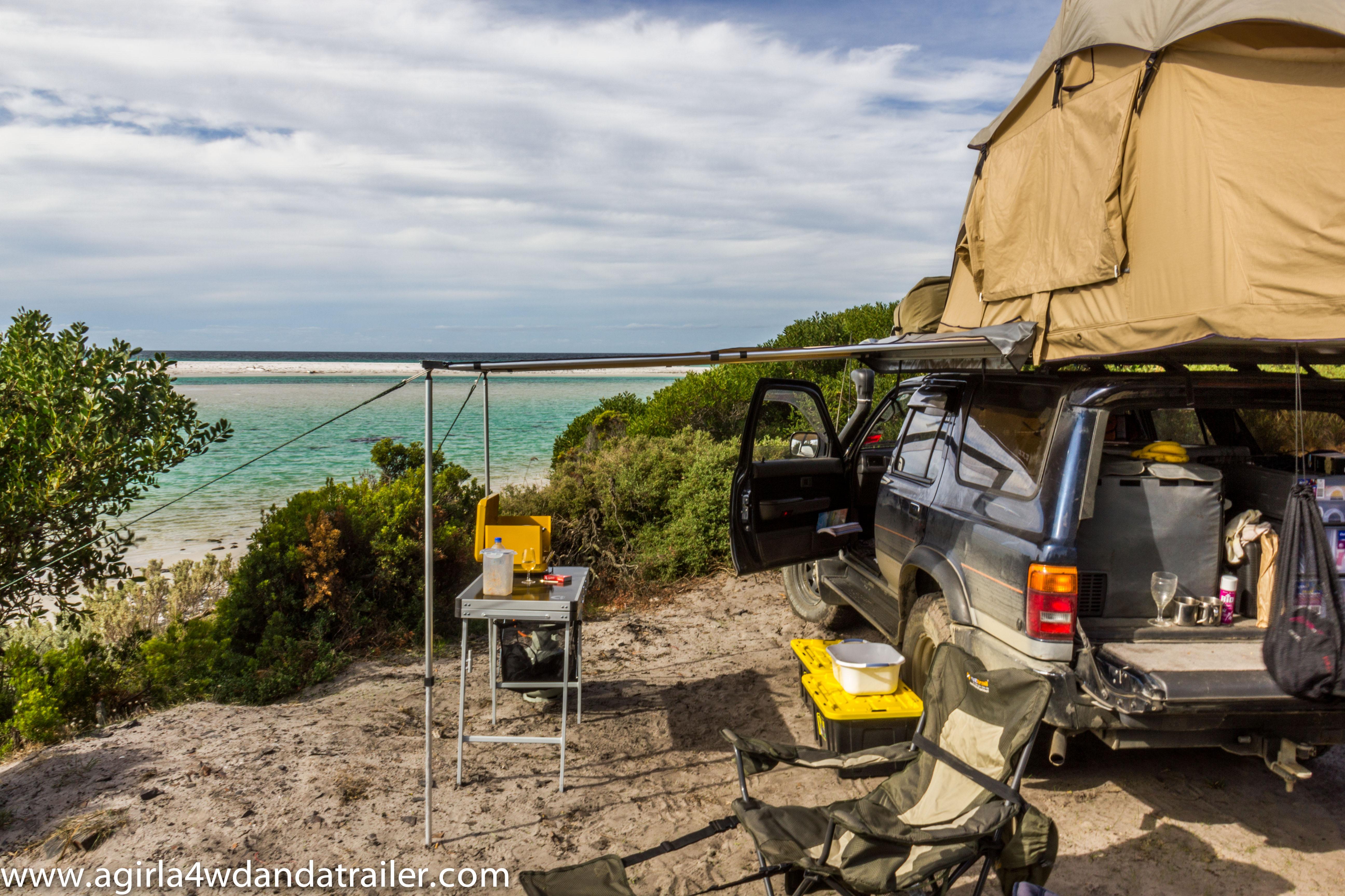 camping tasmania | a girl, a 4wd & a trailer