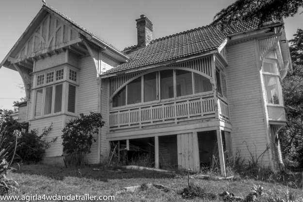 The haunted manse