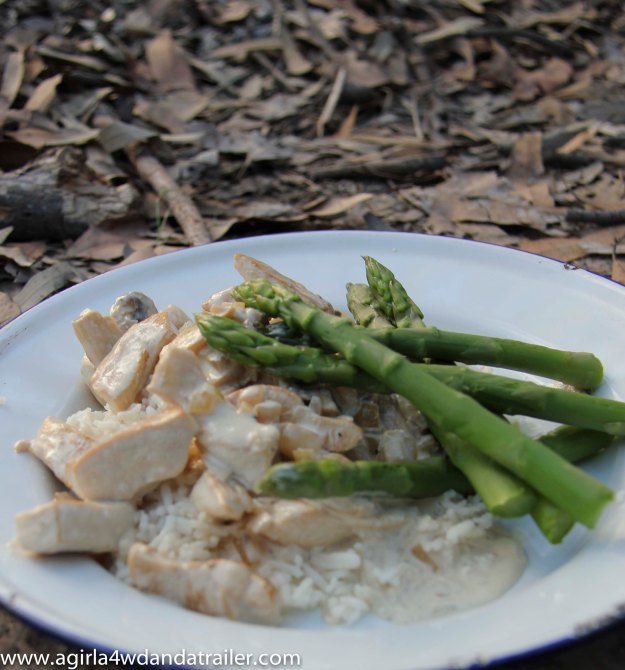 Creamy Chicken with Rice