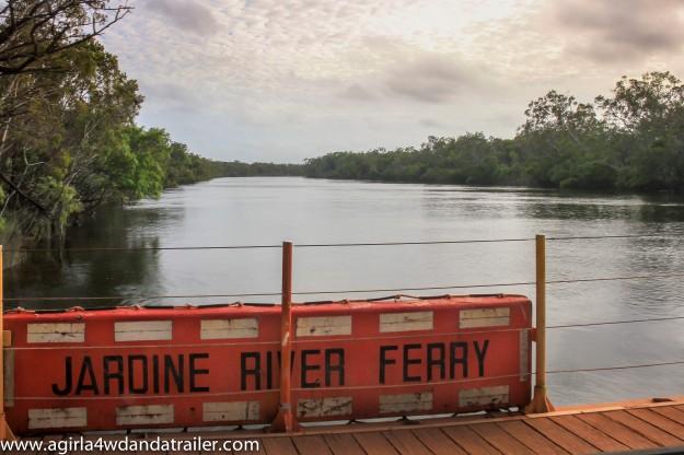 Crossing the Jardine River