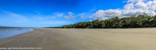 View from Cape Tribulation Camping