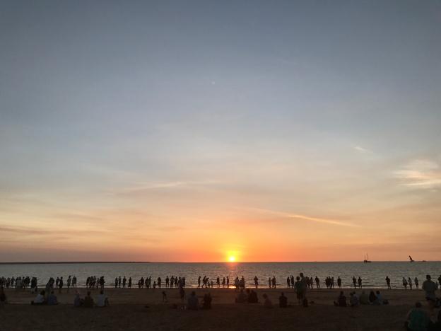 Darwin Northern Territory Sunset
