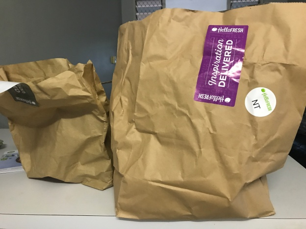Plastic Free July with Hello Fresh Paper Bags